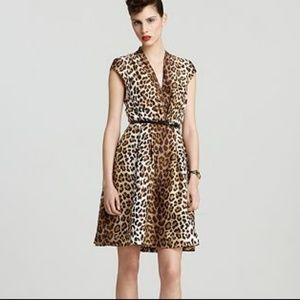 Kate Spade Roxanne Brown Leopard Print Dress 4